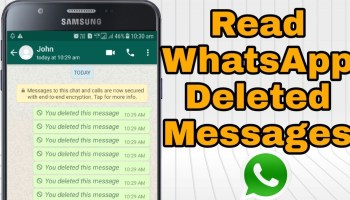 How to Recover Deleted Texts From A Phone?