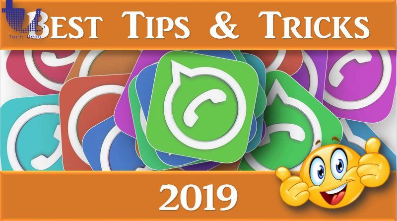 WhatsApp - Best Tips & Tricks (2019) - Tech Urdu