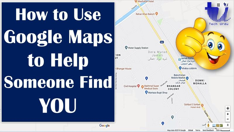 How to Use Google Maps to Help Someone Find You? - Tech Urdu