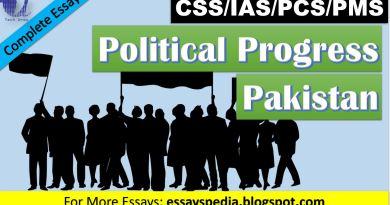 Political Progress in Pakistan | Complete Essay with Outline - Tech Urdu