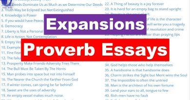 Proverb Expansions | Proverb Essays - Tech Urdu
