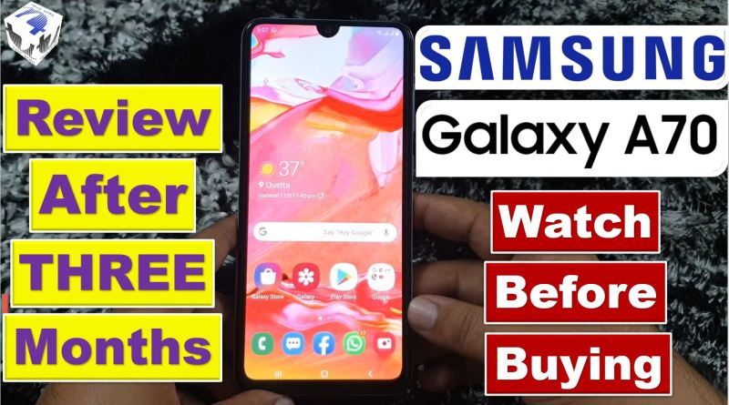 Samsung Galaxy A70 | The Good👍 The Bad👎 | Ultimate Review - Tech Urdu