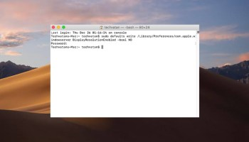 How to Fix MacOS Mojave Screen Resolution on VMware on Windows