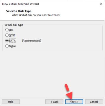 MacOS Mojave Disk Type