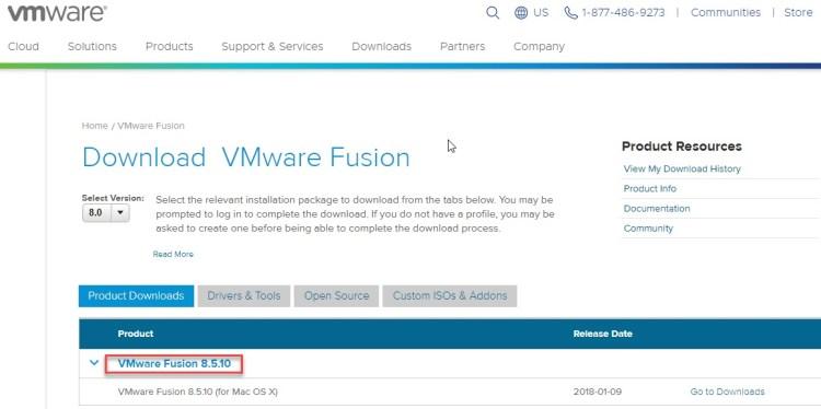 install vmware on mac