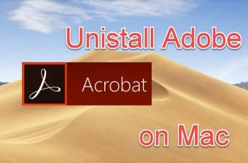 uninstall adobe acrobat DC from mac