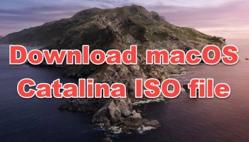 download macOS Catalina ISO file