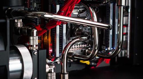 Aventum II custom cooling system