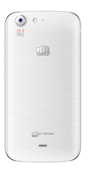 Micromax canvas 4 back