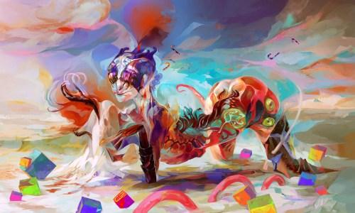 Veronique-Meignaud psychedelic artist