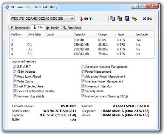 hdtune_hard-disk-detailed-information