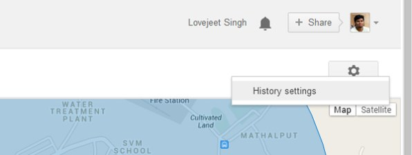 Google-location-history-settings