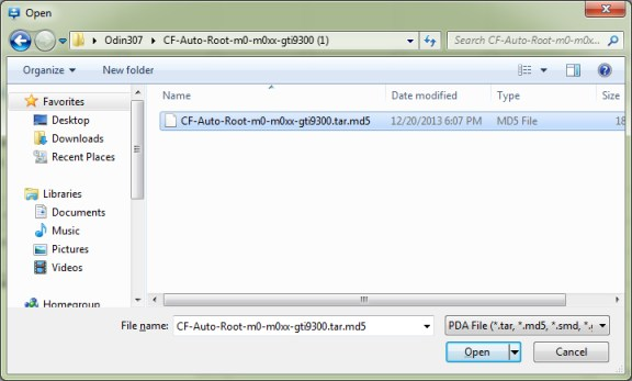 select-the-cf-auto-root-file