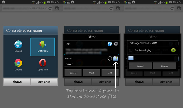 Manage multiple Downloads on Android with Advanced Download