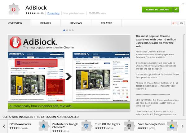 adblock-for-gogole-chrome