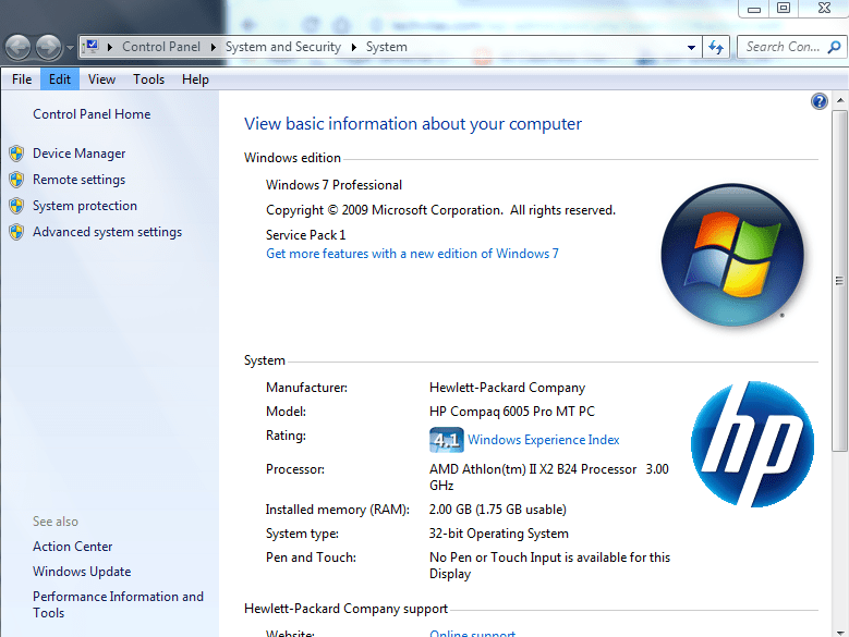 Windows 7-Know Windows 7 Edition