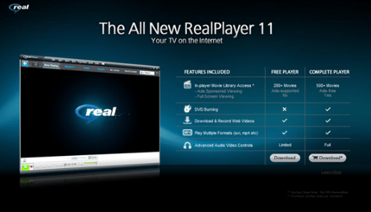 Real Video Player 11