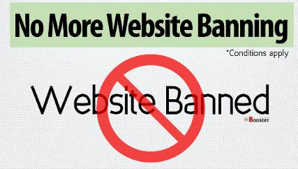 Website Banned