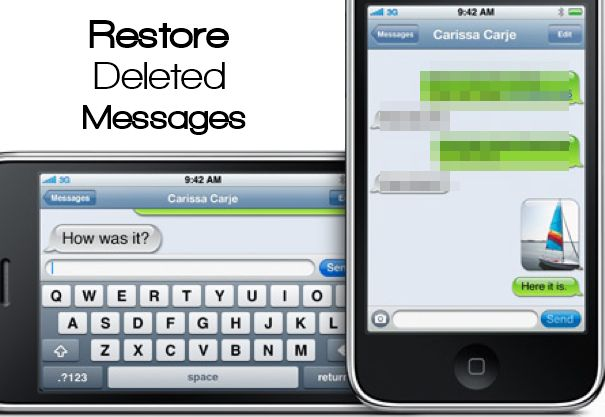 deleted text messages iphone how to restore deleted text messages on iphone 13973