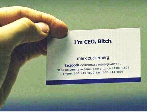 Mark Zuckerberg: Facebook