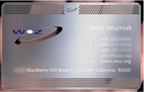 Steve Wozniak: Co-founder Apple