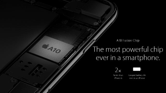 iPhone 7 A10 Fusion Processor