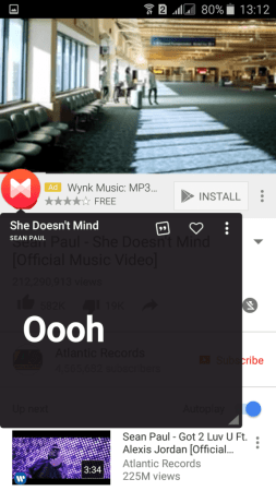 Automatically Get Lyrics in YouTube Videos In Android Device
