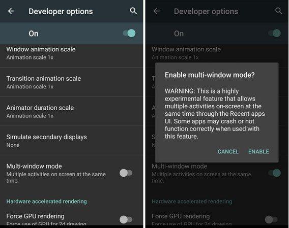 enable multi windows