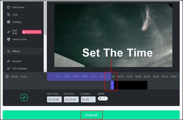 Turn Any YouTube Video Into An Animated GIF