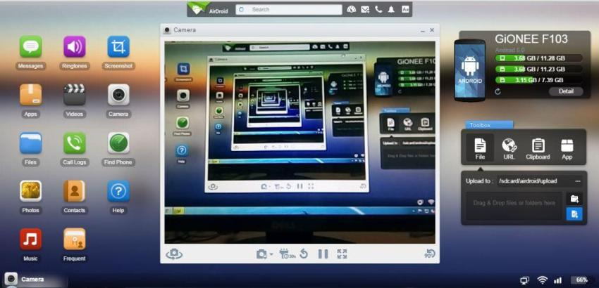 Wirelessly Share Data Between Pc And Android Mobile