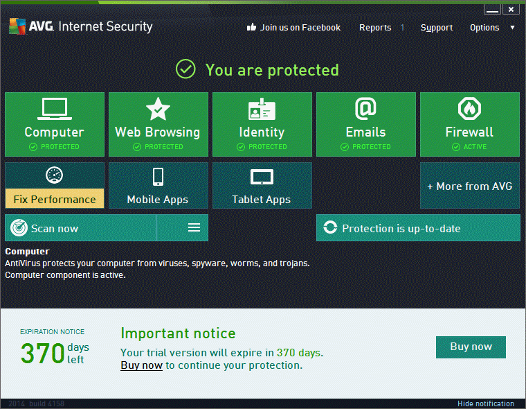 Use Antiviruses With Internet Security