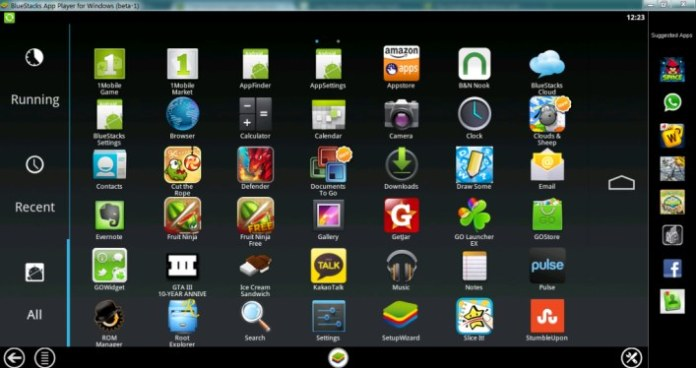 Run Smartphone Apps On Your PC