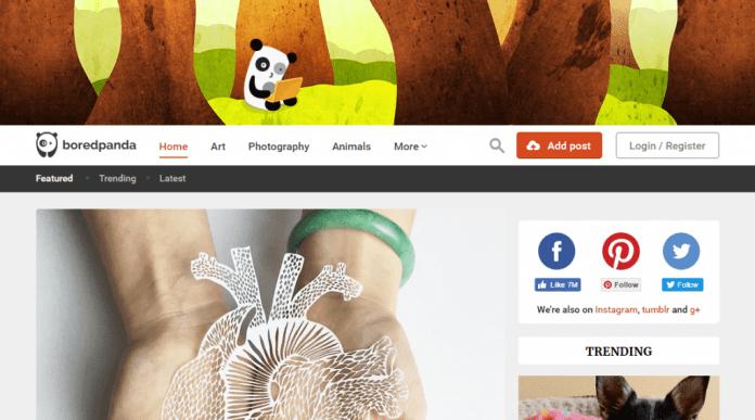 Bored Panda - interesting blogs