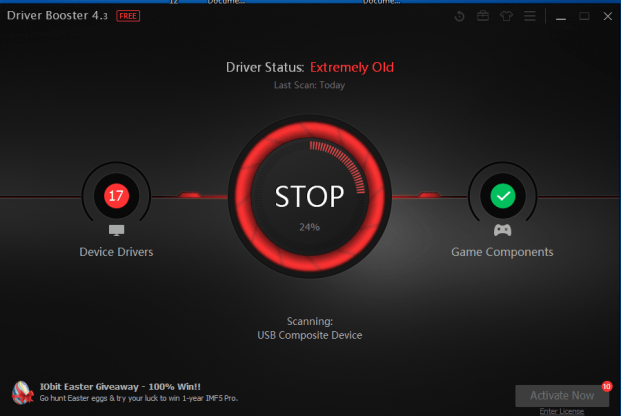Using Driver Booster