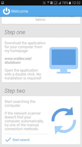 Using Shutdown Start Remote