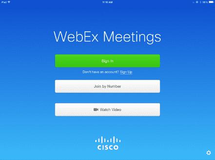 WebEx Gratis