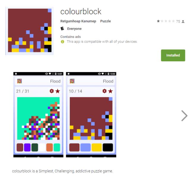 Game ColourBlock