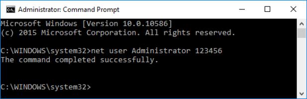 Reset or Recover Windows 10 Password