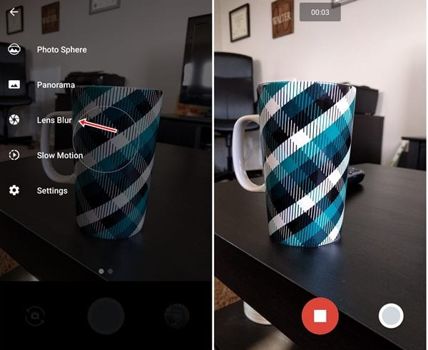 Shoot Background Blur On Single Camera Phone Android
