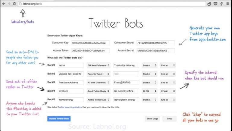 Write a Twitter Bot in 5 Minutes