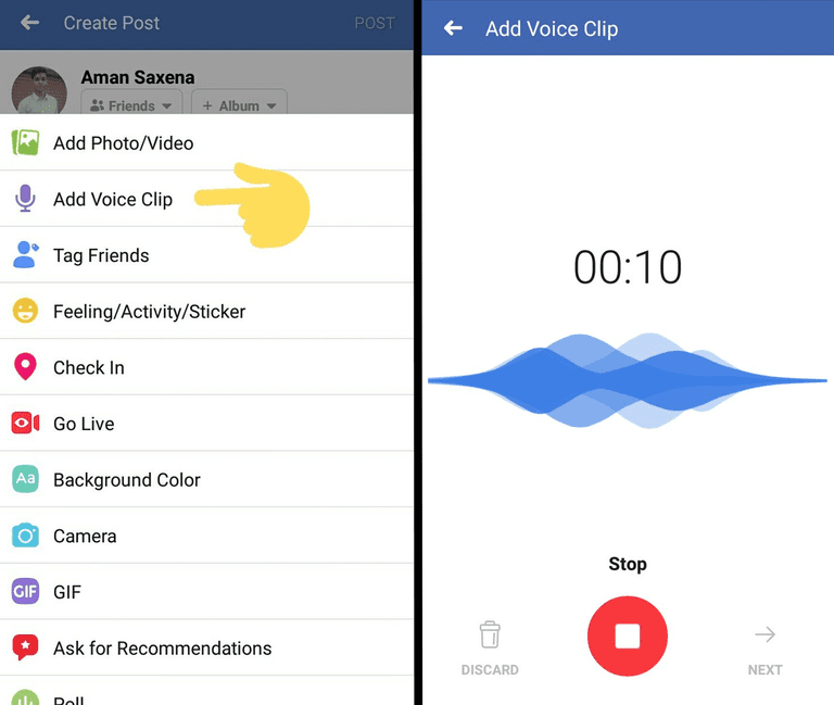 Facebook Testing This New Feature For Status Updates
