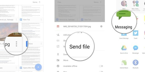 How To Send Large Files From Android