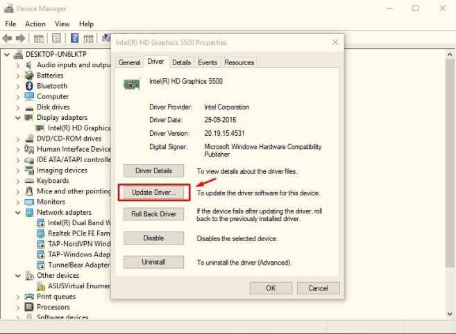 Fix Windows 10 Brightness Problem