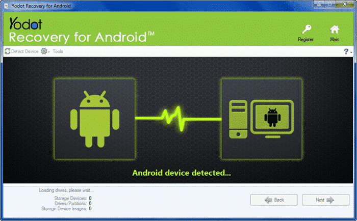 Download & install Yodot Recovery for Android