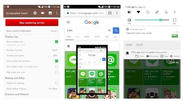 Aplikasi Screenshot Terbaik Android   Tanpa Root