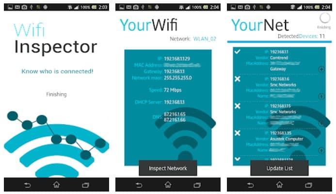 Wi-Fi inspect