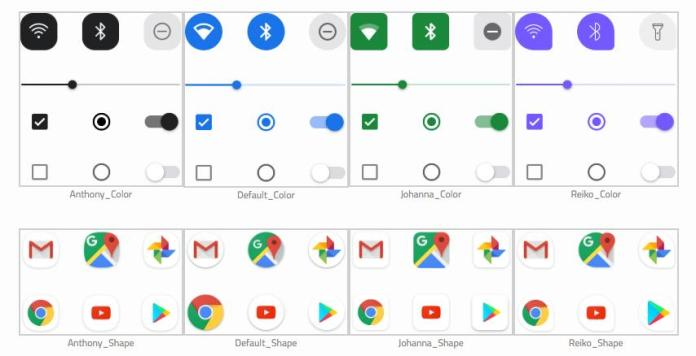 Android Q 1 - Android Q Beta 2 Reveals Google Is Working On Themes