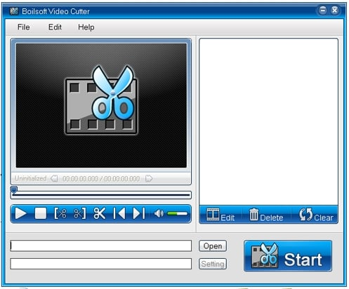 Splitting the Videos