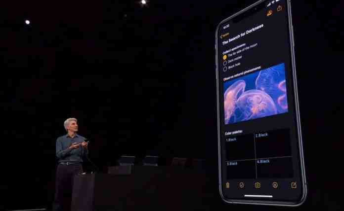Dark Mode 1024x629 - Top 12 Biggest iOS 13 Features That You Should Know