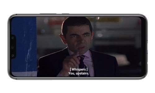 Movie with subtitles